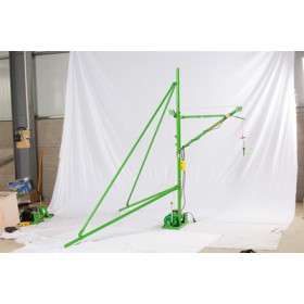 室内轻型起重简易吊机价格-装修型小吊机室内方法
