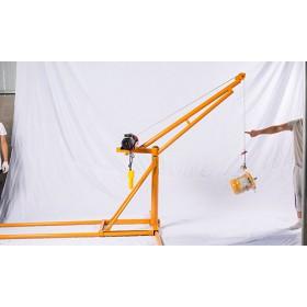 河北电动简易吊机价格-多层仓库吊装使用-东弘起重