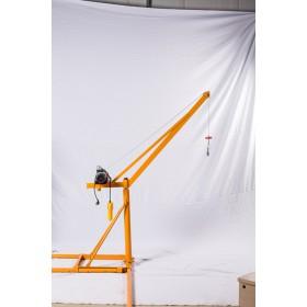 家用100公斤微型小吊机-河北吊粮机价格-东弘起重