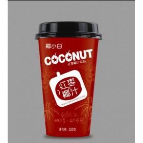 厂家杯装品牌加盟红枣椰汁饮料320ml15杯