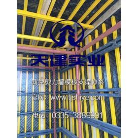 新型钢结构模板支撑体系模块化组拼保证质量