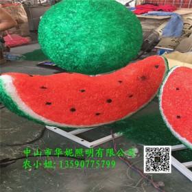 农庄LED蔬菜水果造型灯 新春发光桃子灯 市政街道亮化