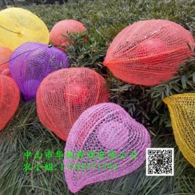 春节LED过街灯 和平路步行街LED桃子挂件灯 灯杆跨街灯