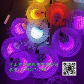 LED石榴造型灯 LED水果造型灯 春节街道树木亮化