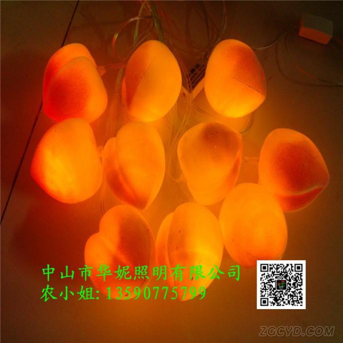 LED桃子灯 (7)