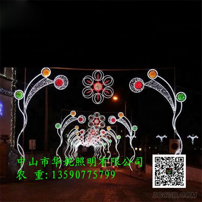 Led-pole-motif-light-holiday-Outdoor-Christmas