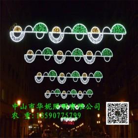 济南灯杆LED跨街灯 LED音符横街灯 中国梦装饰灯