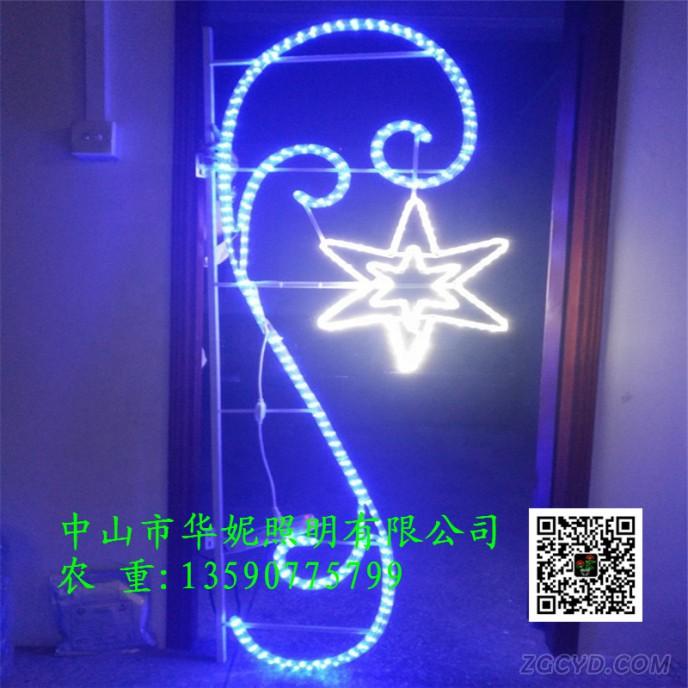 2-0m-high-led-gift-box-pole