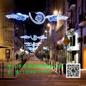 圣诞节LED造型灯 和平路LED路灯杆中国梦灯 LED跨街灯