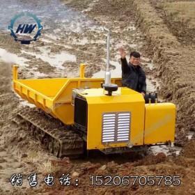 履带运输车厂家直销农田水利矿山工程果园园林履带自卸车