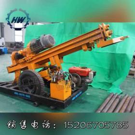 轮式小型打井机 手推式水井钻机 电气两用价格便宜