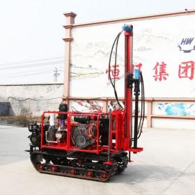 小型履带百米气动打井机 效率快简单方便