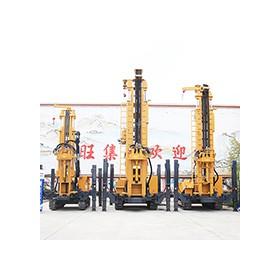 300米履带深井钻机 160型徐工钻机 高支腿气动水井钻机