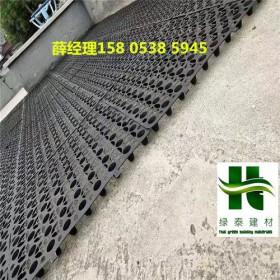 广州2.5公分10高滤水板—湛江车库蓄排水板