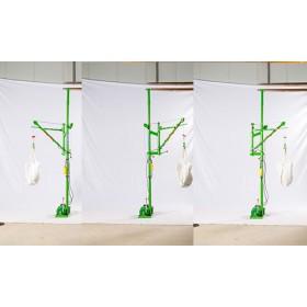 室内小型吊机河南巩义市-东弘起重-电动旋转小吊机