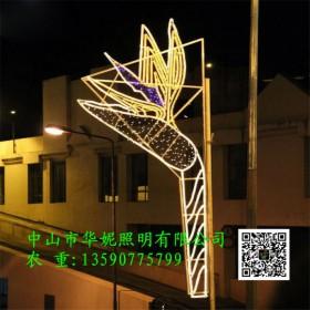 70周年国庆LED灯杆造型灯 LED中国梦景观灯 过街灯新款