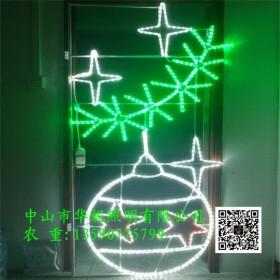 秦皇岛市LED路灯杆造型灯 春节树木夜景亮化灯 灯串批发
