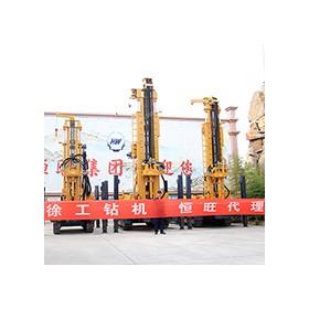 700米深全液压履带气动水井钻机 徐工350型钻机