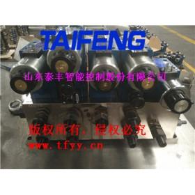 济宁泰丰生产1000吨龙门剪切机二通插装阀