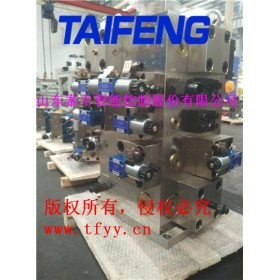 济宁泰丰厂家生产油压机二通插装阀