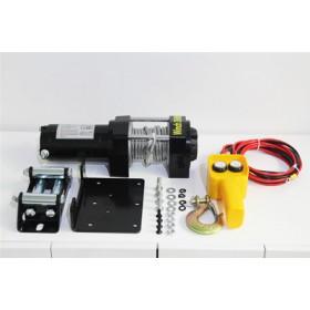 电动绞盘价格-汽车电动绞盘-小型车载吊机24V销售