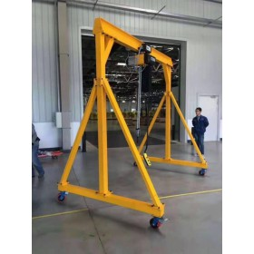 小型龙门架订制-电动手推移动龙门架订制-东弘起重