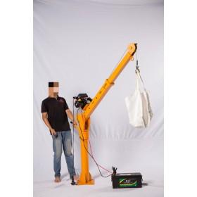 小型车载吊机价格-电动绞盘厂家-折叠式车载小吊机