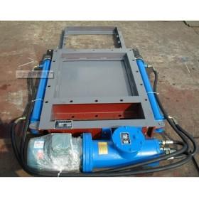 双油缸DPZ300*300电液动平板闸门做工细