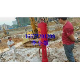 广东大型岩石破裂机挖机改造分裂机