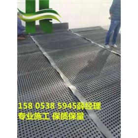 岳阳顶板车库排水板√凹凸2公分新料排水板