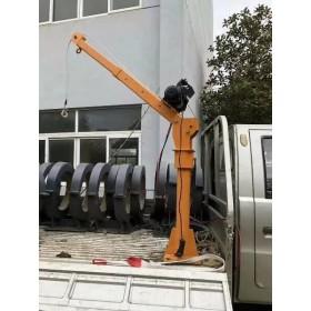 500公斤车载小吊机批发-500公斤单臂随车小吊机价格