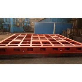 北重机械机床床身铸件,机床底座工作台铸造加工