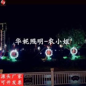 2022新春造型灯 文旅灯光小品动物灯 网红打卡灯